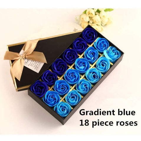christmas presents 12 roses soap flower chocolate cartoon toy box, Ideas