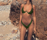 The new type of explosive character gathered in steel bracket 3 bikini bikini swimsuit.