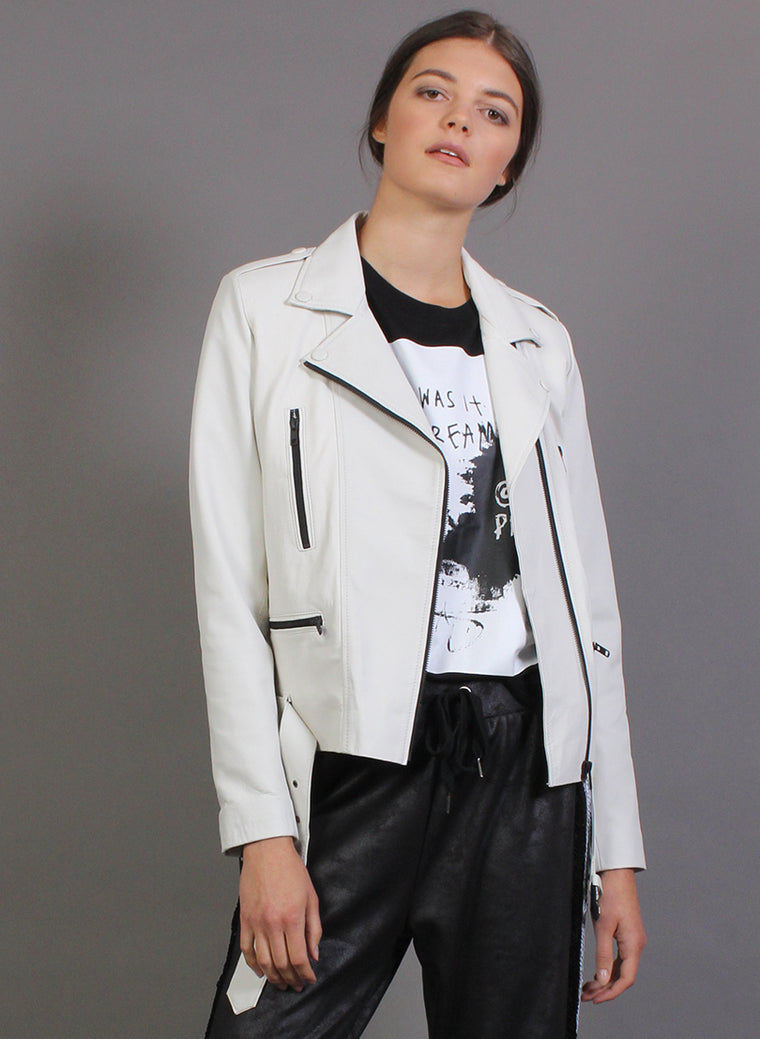 BIKER PARTY JACKET WHITE