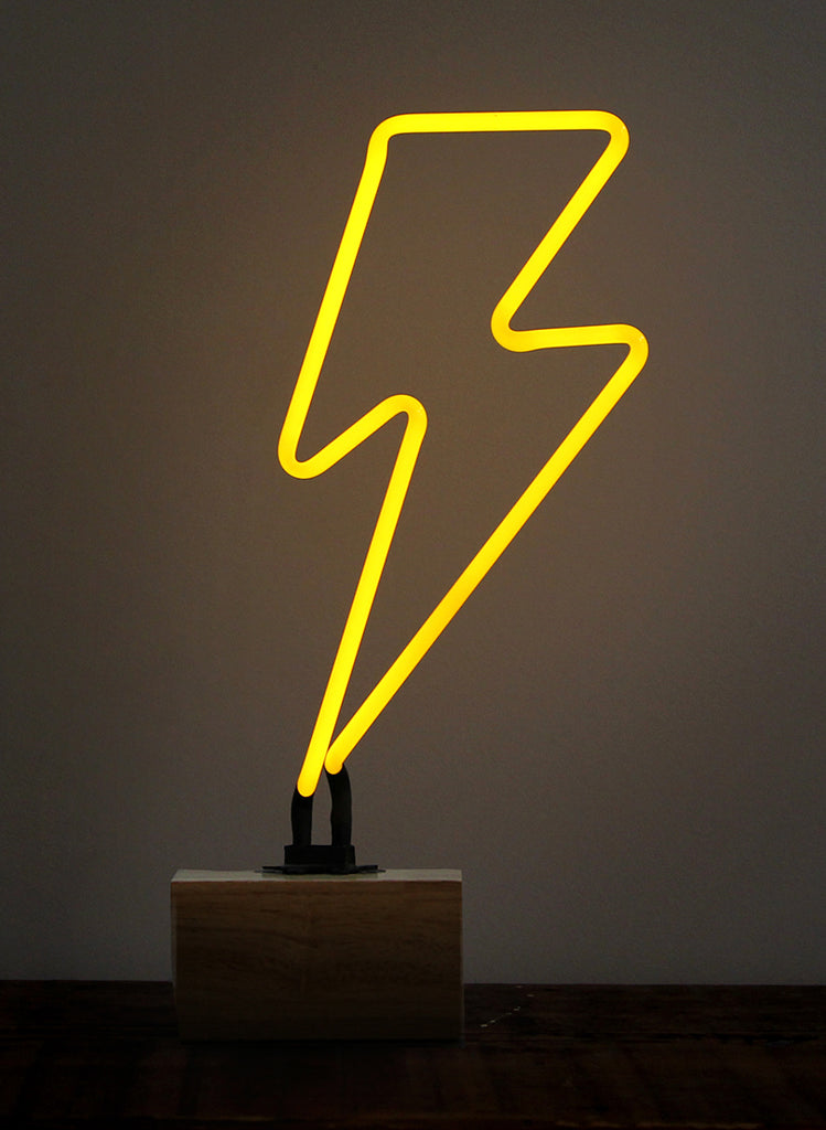SOMEKIND - NEON 'BOLT' WOOD