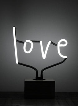 "SOMEKIND NEON ""LOVE"" - WHITE"