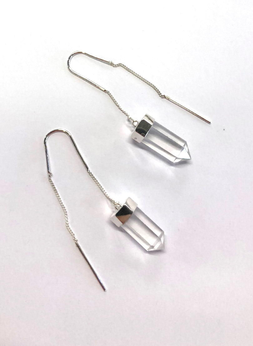 QUARTZ EARINGS