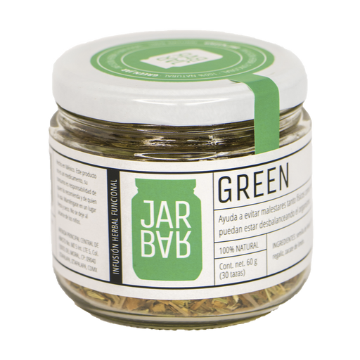 Infusión Green Jar (Malestares)