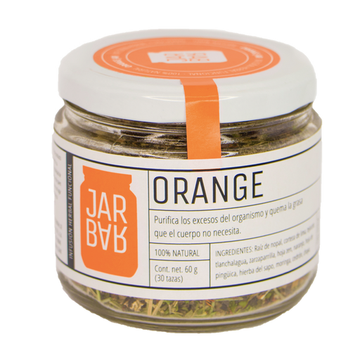 Infusión Orange Jar (Adelgazante)
