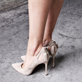 Siren Shoes - Honour - Sand Suede - Footwear - M.VE BOUTIQUE - 1