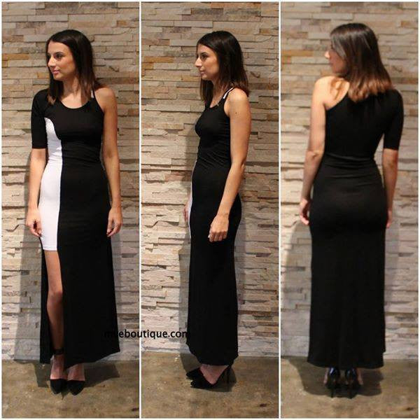 Incyda The Label - SPLIT PERSONALITY MAXI DRESS - Dresses - M.VE BOUTIQUE