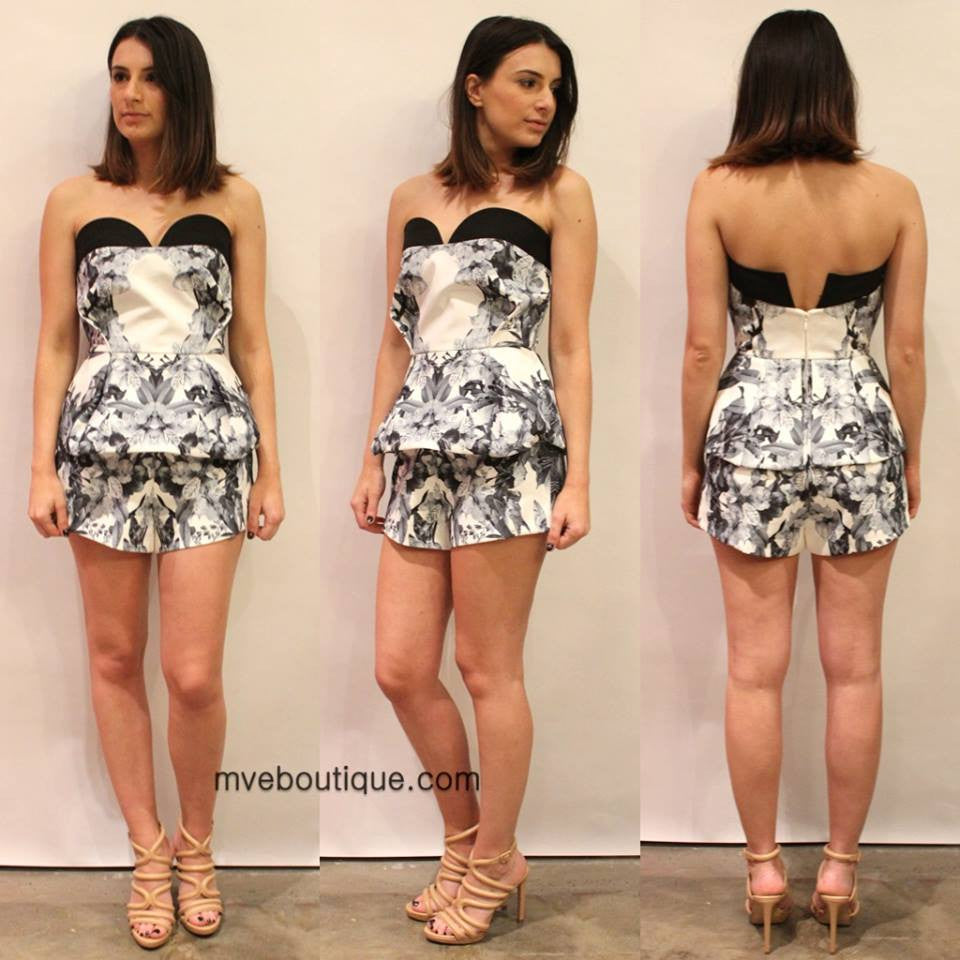 Finders Keepers - SITTING WAITING WISHING PLAYSUIT - Playsuits - M.VE BOUTIQUE - 1