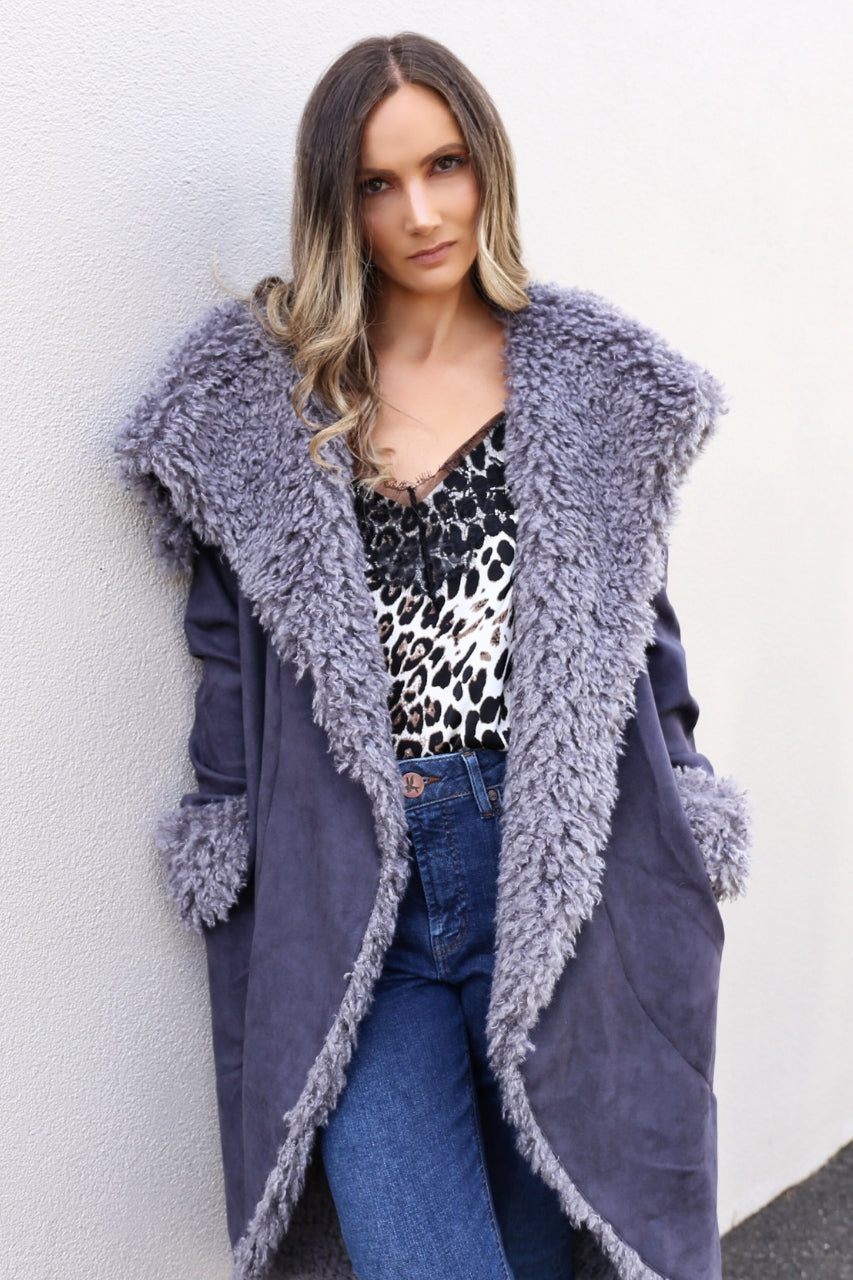 LEOPARD LACE CAMI chronical coat freebirds ii