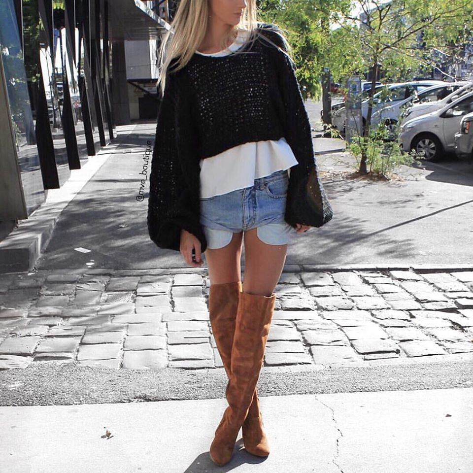 Asilio The Label - CRASH AND BURN KNIT - Knits - M.VE BOUTIQUE - 2