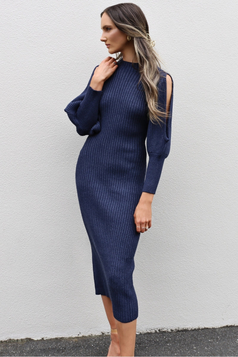 Elliatt Collective August Knit Dress mve boutique