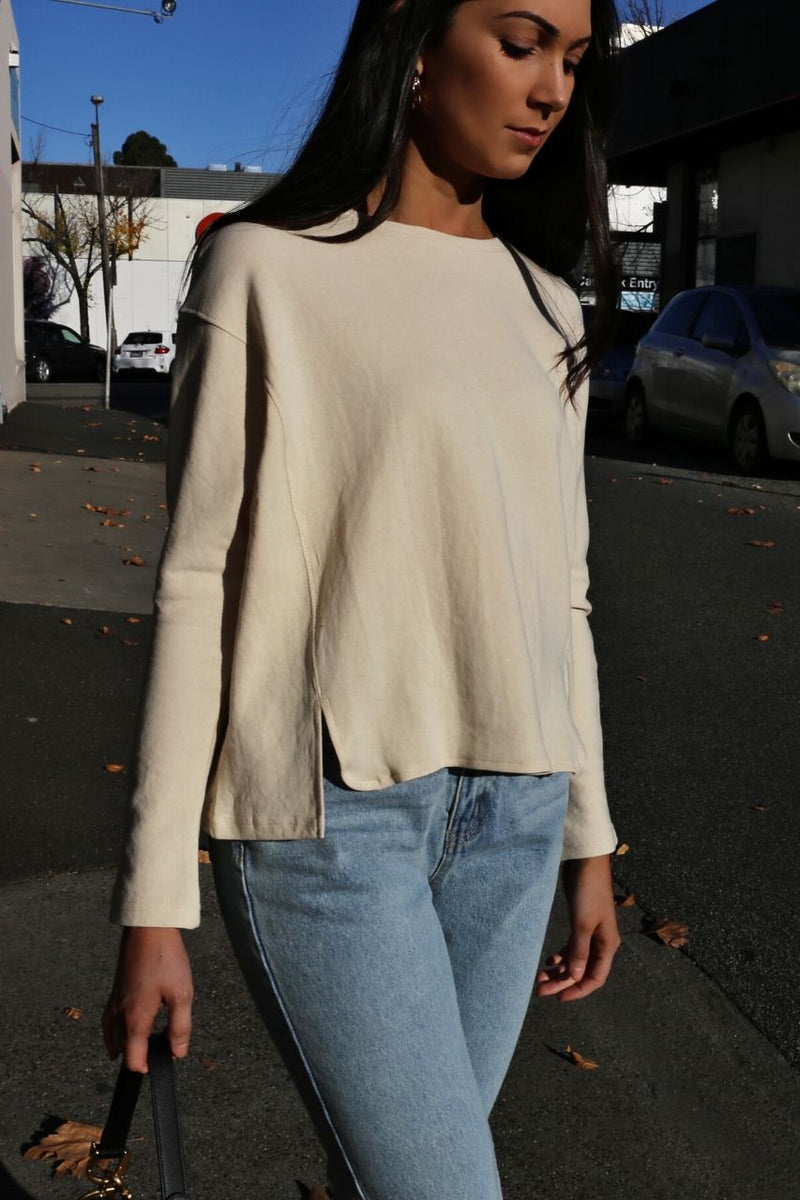 Genesis Sweat - Beige