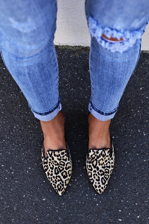 Skin Footwear Aster Slide - Leopard mve boutique