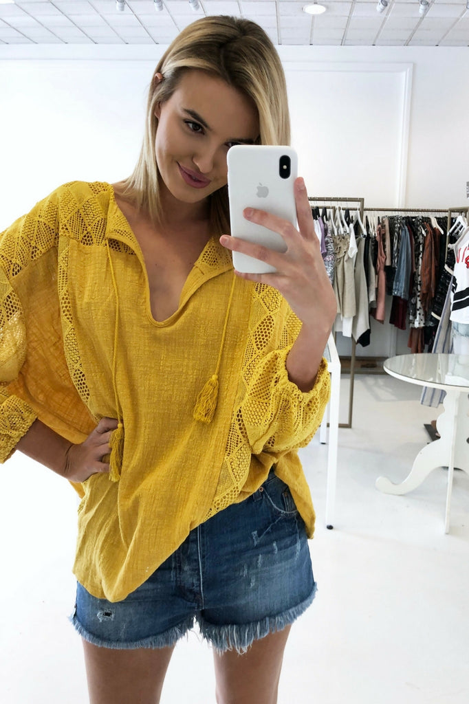 Leisha Top by Hello New is the perfect summer