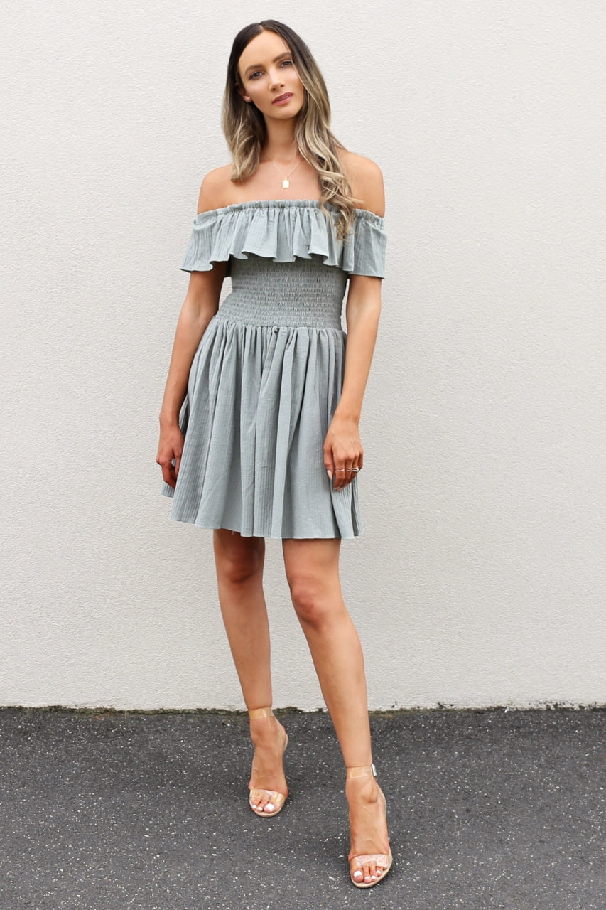 MLM Cava Shoulder Dress mve boutique