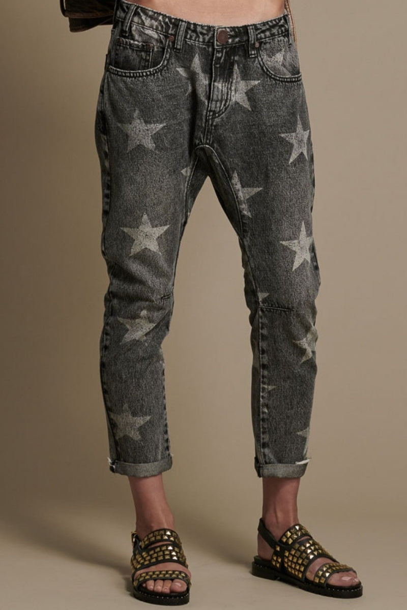 One Teaspoon Saints Boyfriend Jeans - Camden Star