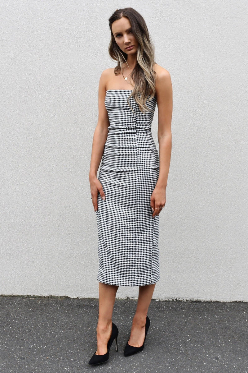 Bec & Bridge French Liason Midi Dress mve boutique