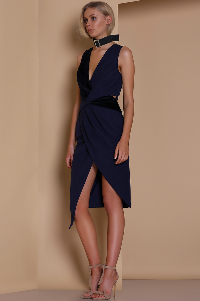 Rendition midi dress