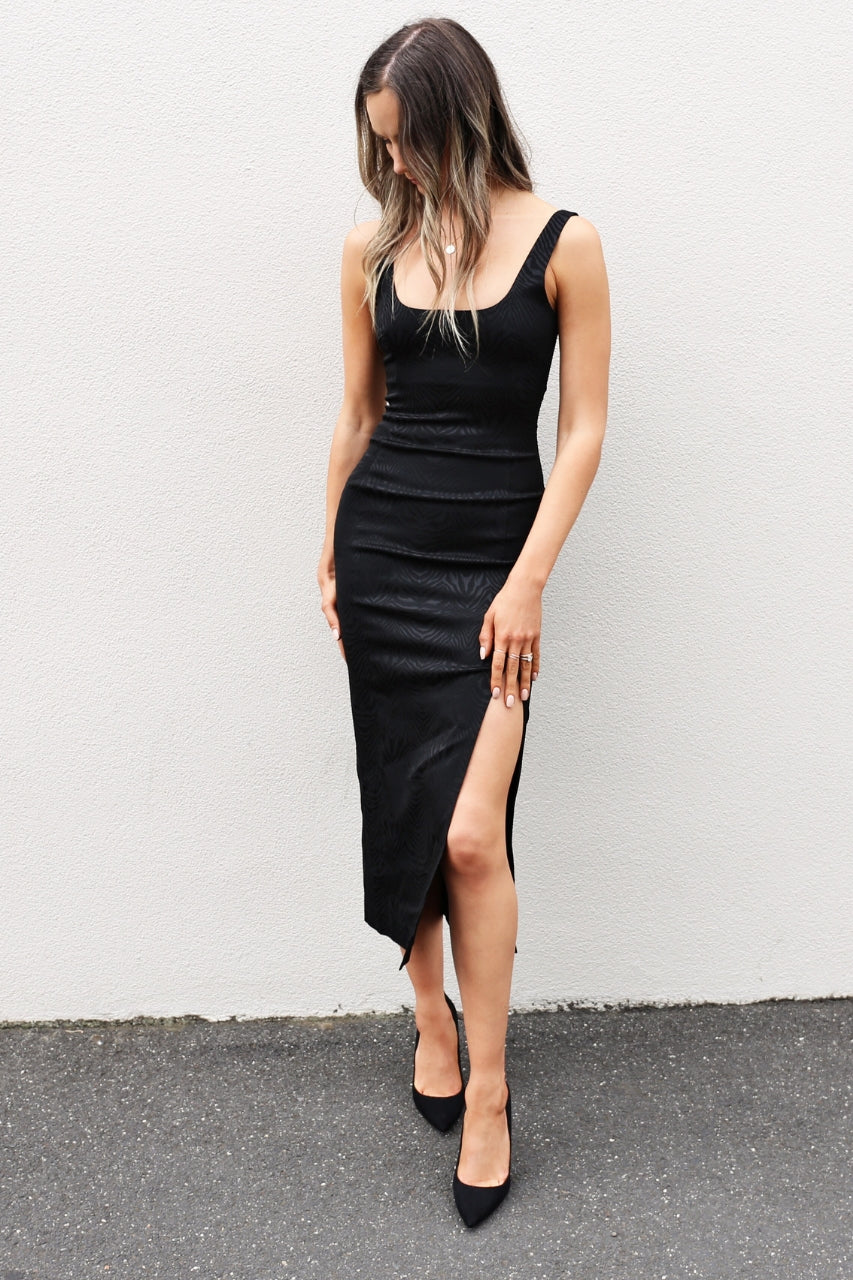 Bec & Bridge Ze'bre Midi Dress mve boutique