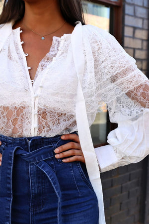 Carmen Lace Shirt