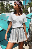 Seven Wonders Seashell Tee