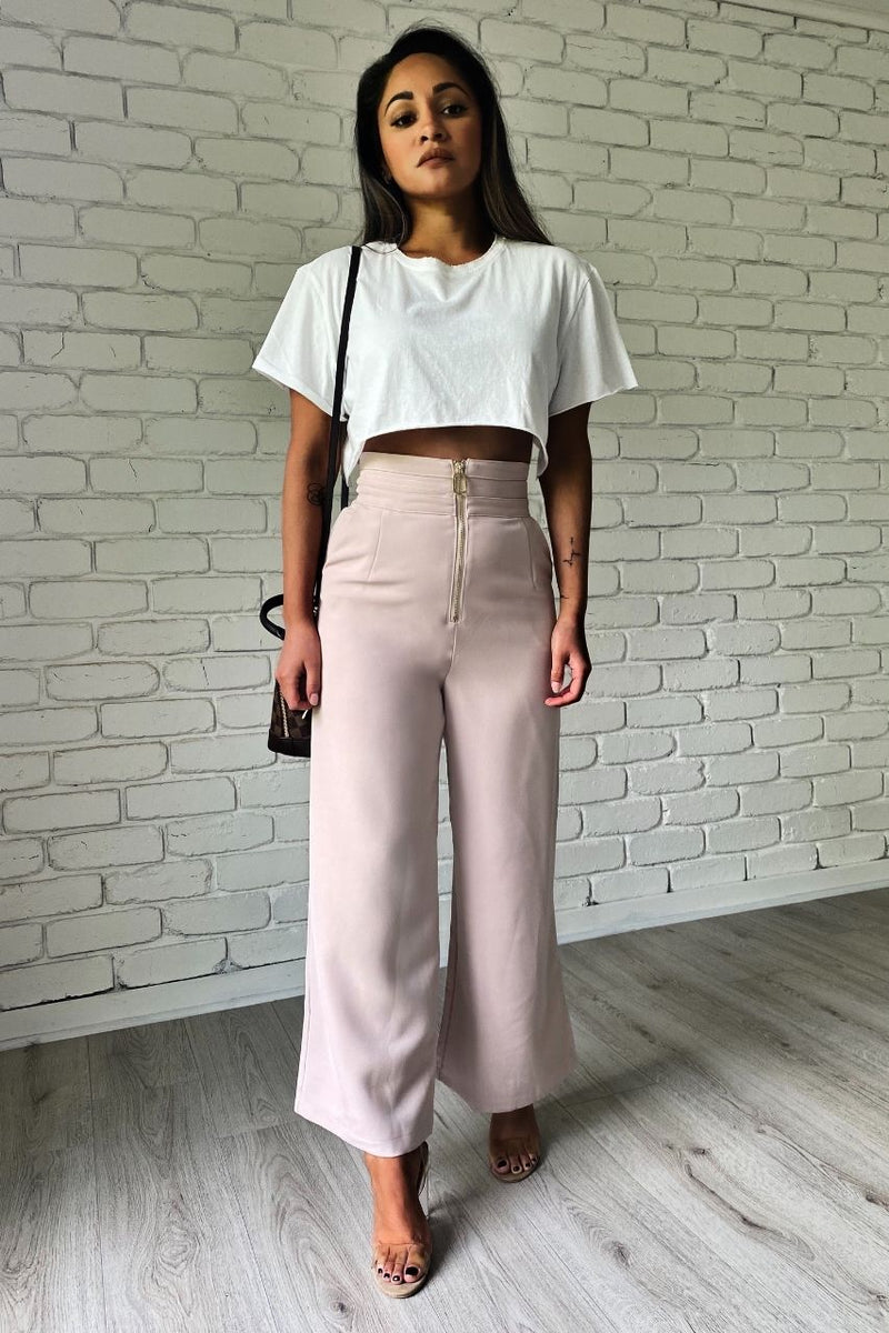 Soiree Pant - Blush