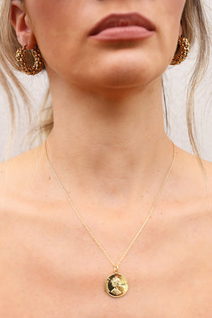 Kitsense - Elizabeth Isle Coin Necklace MVE Boutique