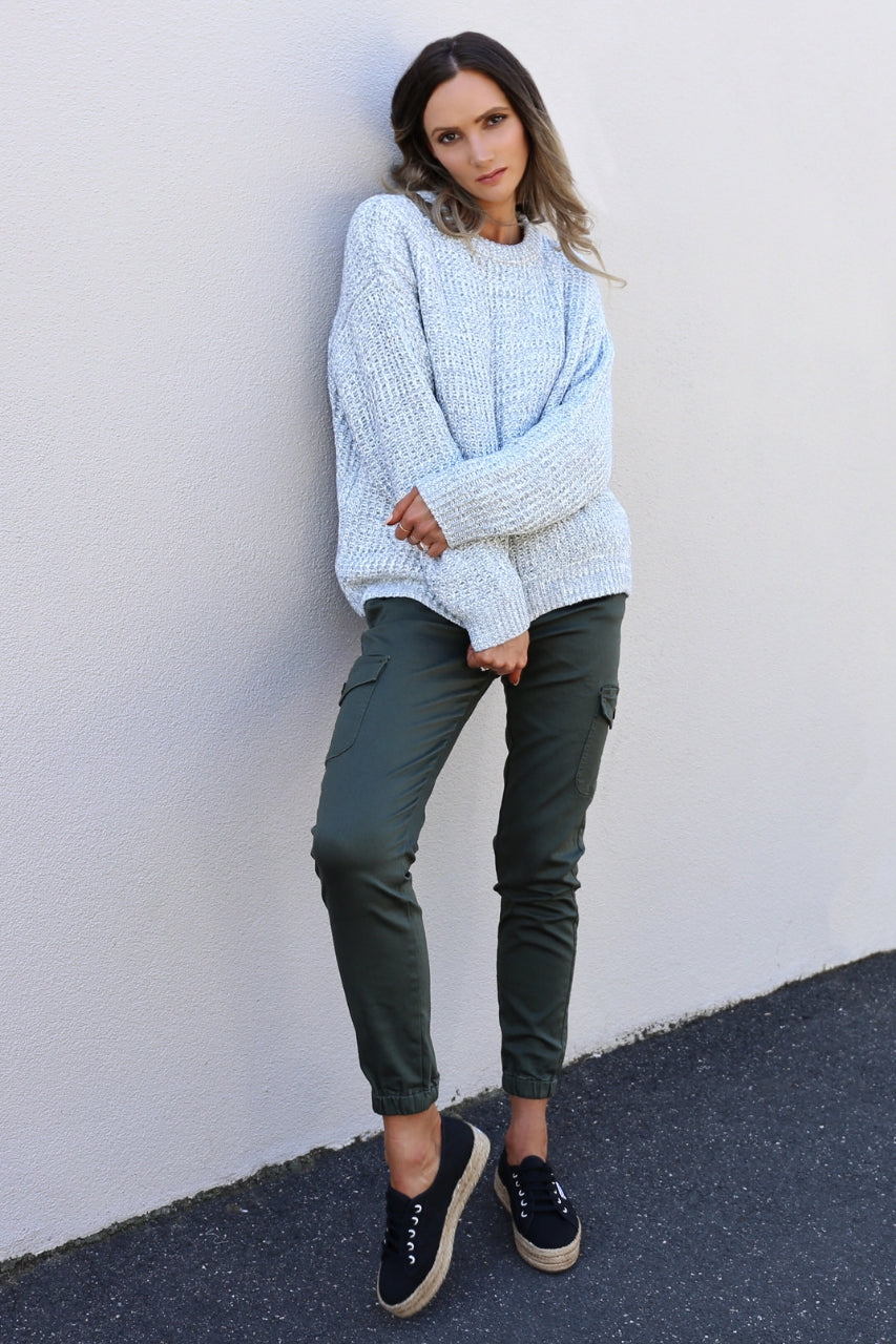 Grey Clouds knit mve boutique