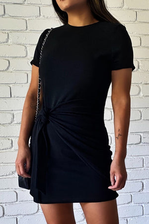 Winnie Shirt Dress - Noir