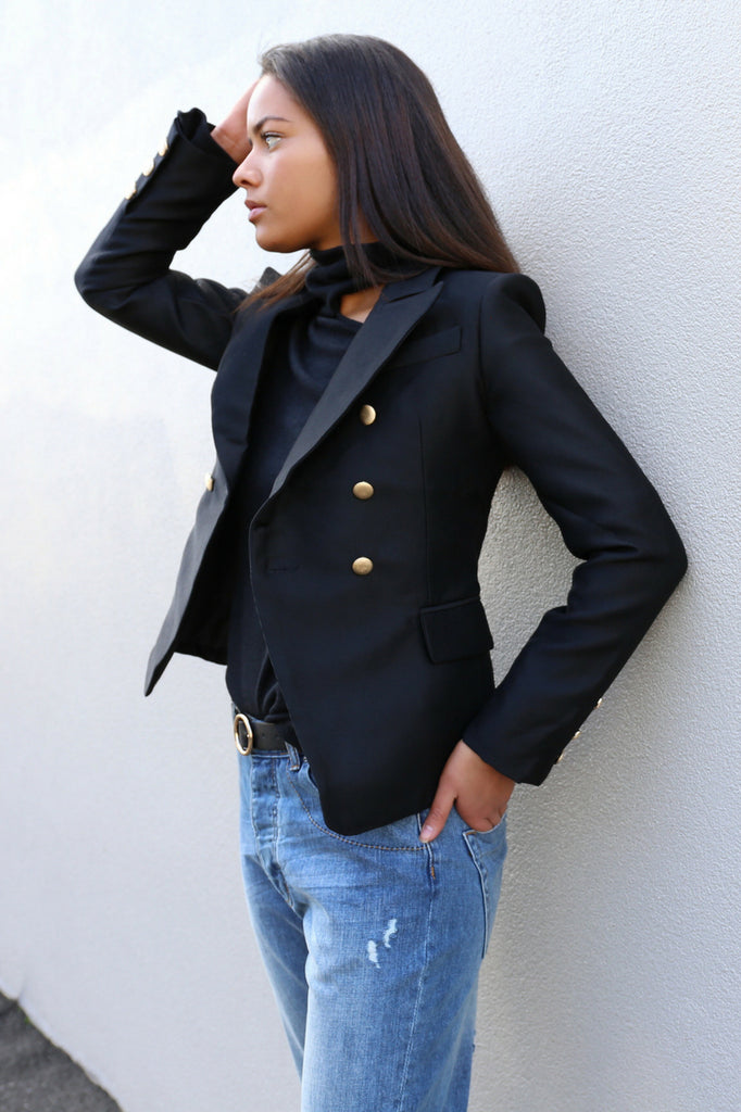 I'M BAD BLAZER - BLACK