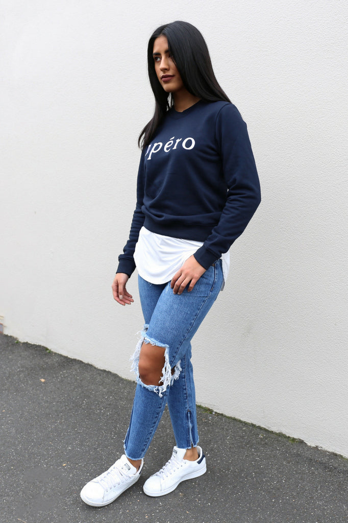 Apéro Embroidered Jumper MVE BOUTIQUE