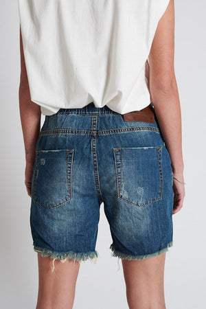 One Teaspoon Rodeo Blue Shabbies shorts
