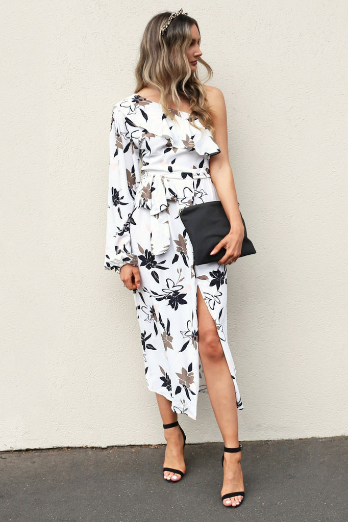 Lucky You Maxi floral Dress mve boutique