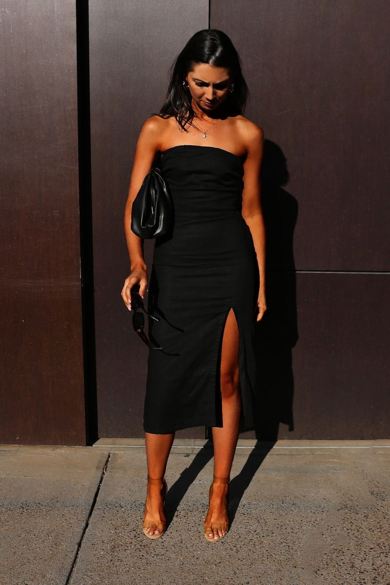 Serena Dress- black
