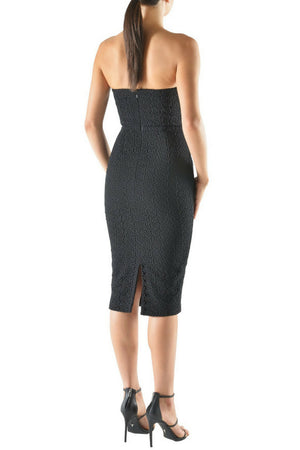 Kianna Nicole Strapless Lace Dress