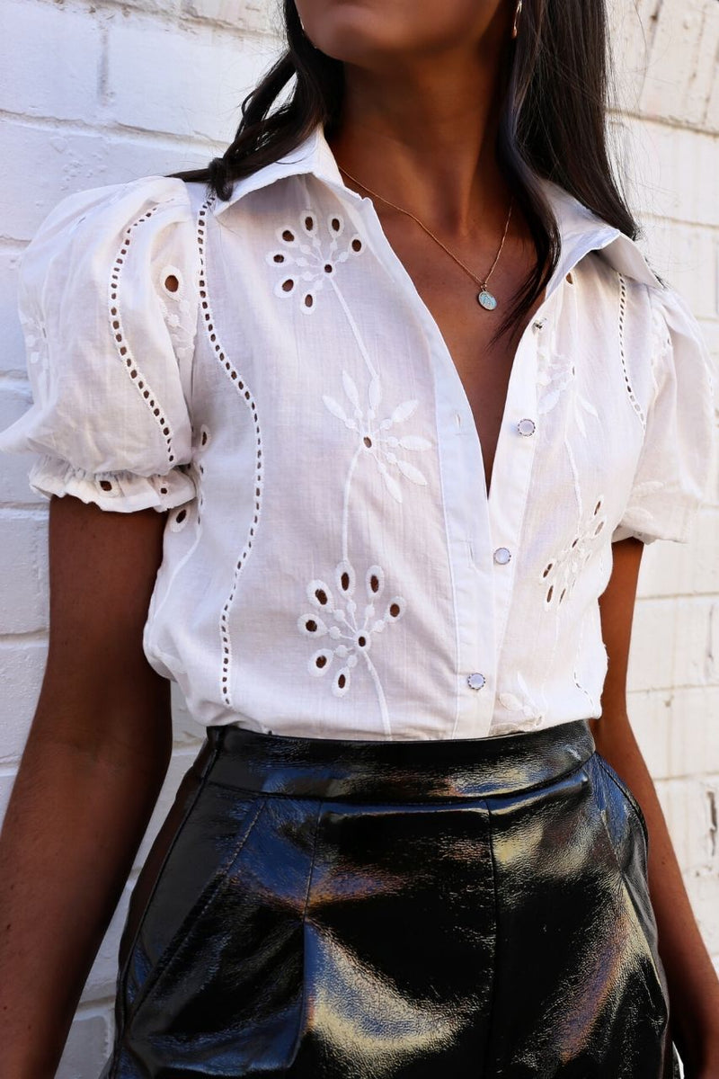 Adriana Blouse- White