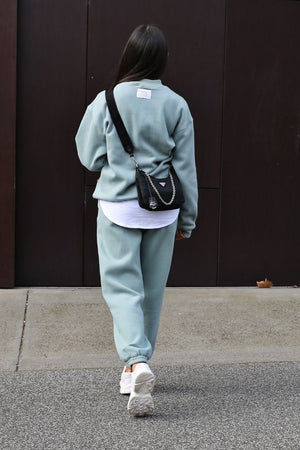 ATOIR X ROZALIA The Crew Neck- Teal