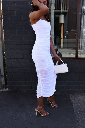 sunday the label Simone dress - white