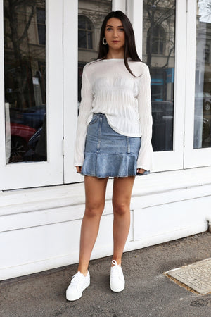 Drake Denim Skirt