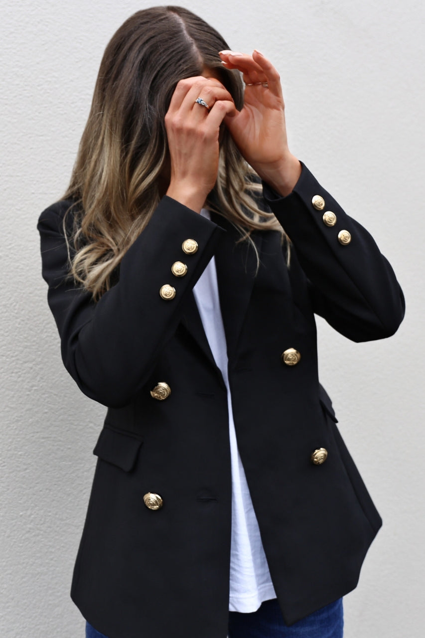 Madison The Label Kendra Blazer mve boutique