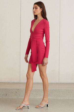 Bec & Bridge Valentines L/S Mini Dress