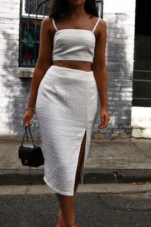 Angel midi Skirt