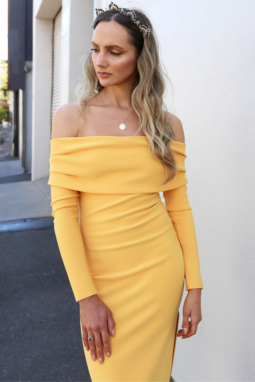 Bec & Bridge Elle Off The Shoulder Dress MVE Boutique