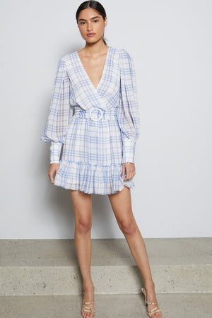 Bec & Bridge Alexa Long Sleeve Mini Dress