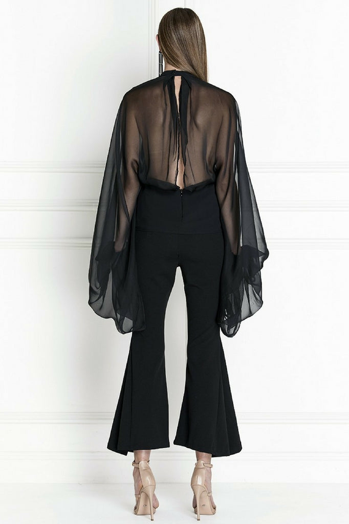Asilio Sisteron Draped Crop Pant MVE Boutique