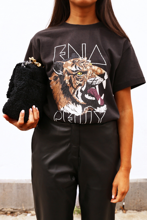 Ena Pelly Wilderness Tee - Washed Black