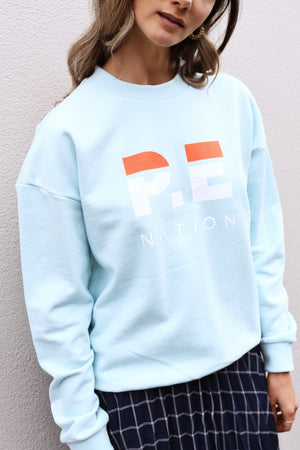 P.E Nation Heads Round Sweat in Mint
