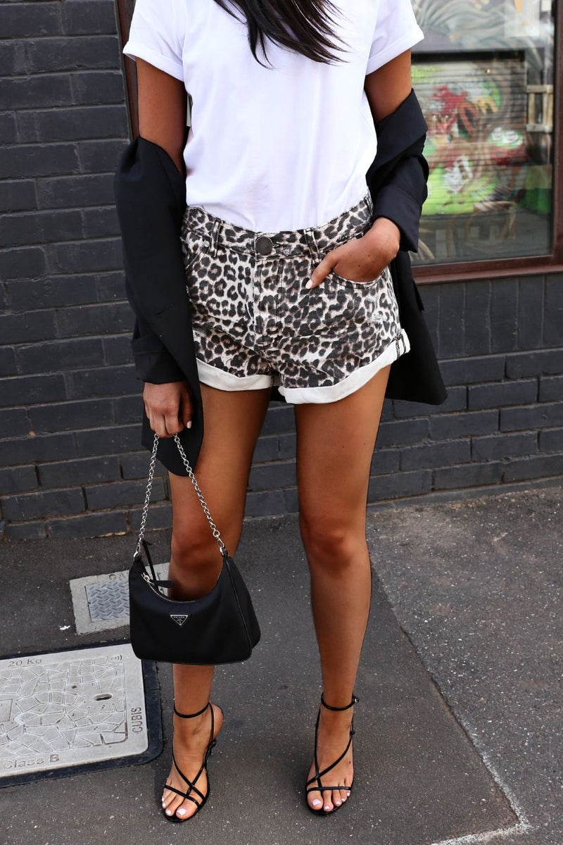 One Teaspoon Animal Bandits shorts