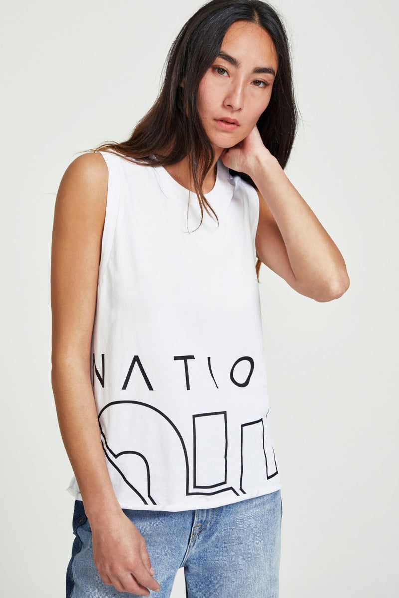 P.E Nation Base Runner Tank