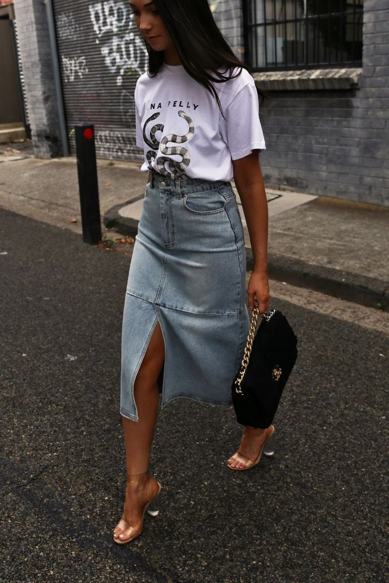 Ena Pelly Pippa Denim skirt