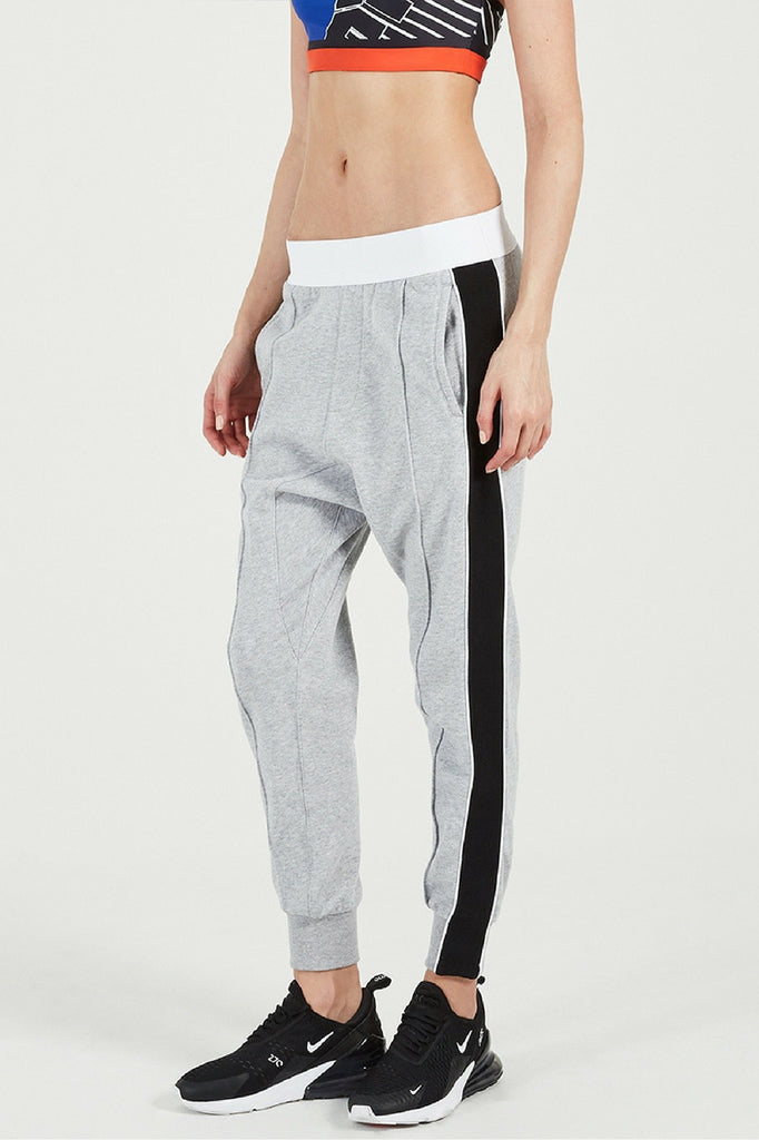 P.E Nation Master Run Pant in Grey Marl mve boutique